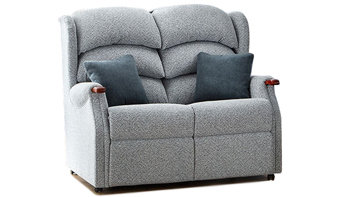 2 Seater Fixed Sofa