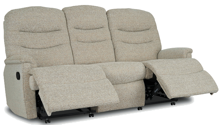 3 Seater Manual Recliner Sofa