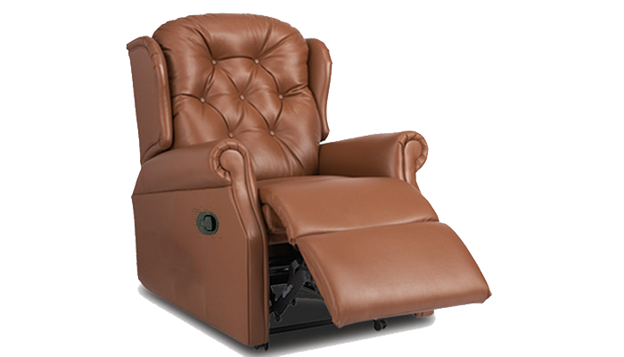 Compact Manual Recliner Chair