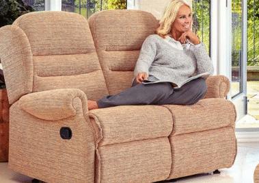 Fabric 2 Seater Sofas