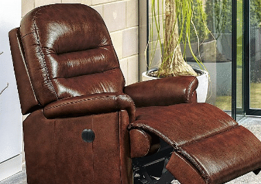 Leather Manual Recliner Chairs