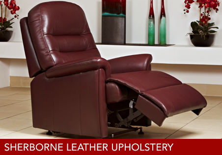 Sherborne Leather Upholstery Group Page Link