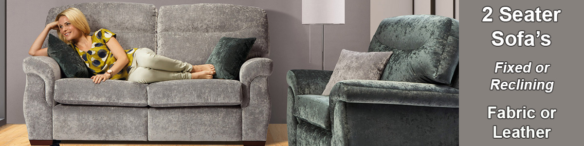 2 Seater Sofas Settees