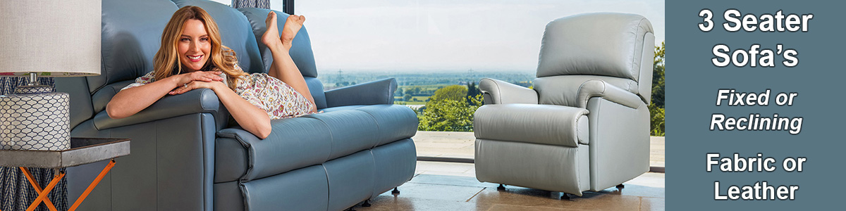 3 Seater Sofas Settees