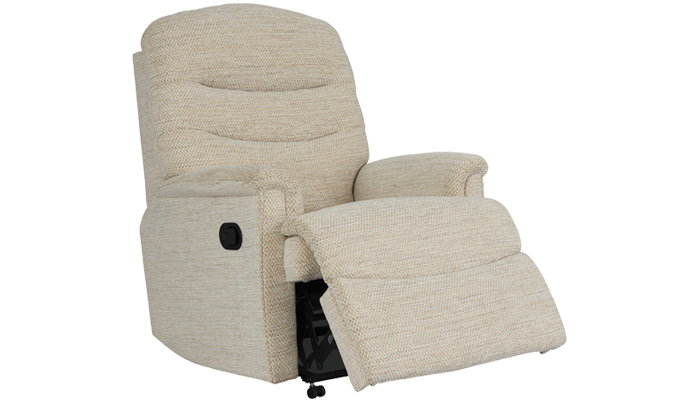 Pembroke Fabric Petite Manual Recliner