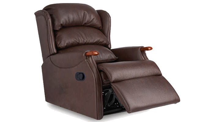 Westbury Leather Grande Manual Recliner