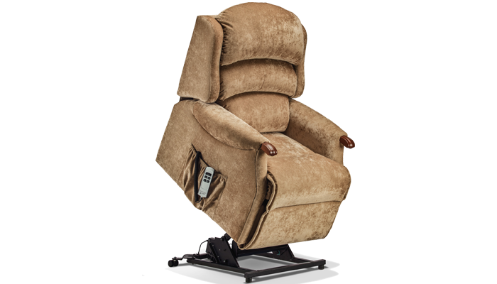 Malham Fabric Small Riser Recliner